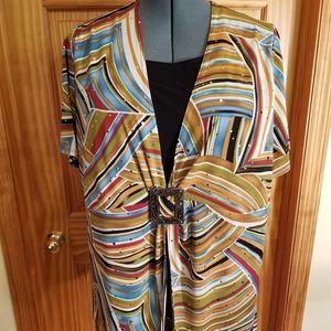 Dress Barn 2PC Look short Sleeve pullover top